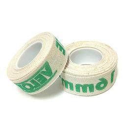 2 ROLLS VELOX 700c x 16mm CLOTH COTTON BIKE RIM STRIP WHEEL