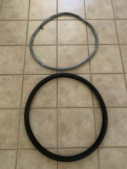 28 X 1 5/8 X 1 3/8  700 X 35C Tires and Inner Tubes Lot Of 2