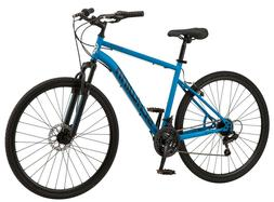 Schwinn 700c Copeland Men's Hybrid Bike Blue In Hand Ready T