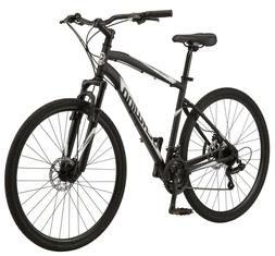 NEW Schwinn 700c Glenwood Men's Hybrid Bike 21 Speeds, Black