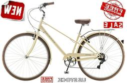 700c Womens Bike Hybrid Adult Mens Bicycle Commuter Admiral