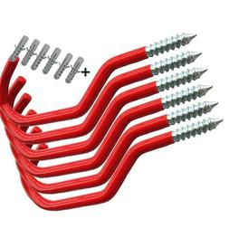 Bike Hooks Set Bicycle Screw Storage Hangers Mountain Road H