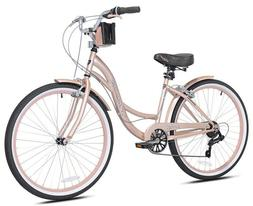 "Kent Cruiser Bike 26"" Women Comfort Beach Bicycle Shimano 7"