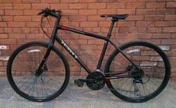 Trek FX 3 Disc Hybrid/City Bike - Sz L - Carbon/Aluminum - L