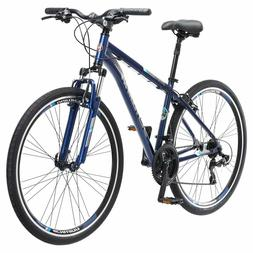 "Schwinn Hybrid Bike Men Trailway 28"" - Blue"
