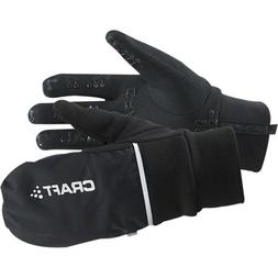 Craft Hybrid Weather Glove: Black MD