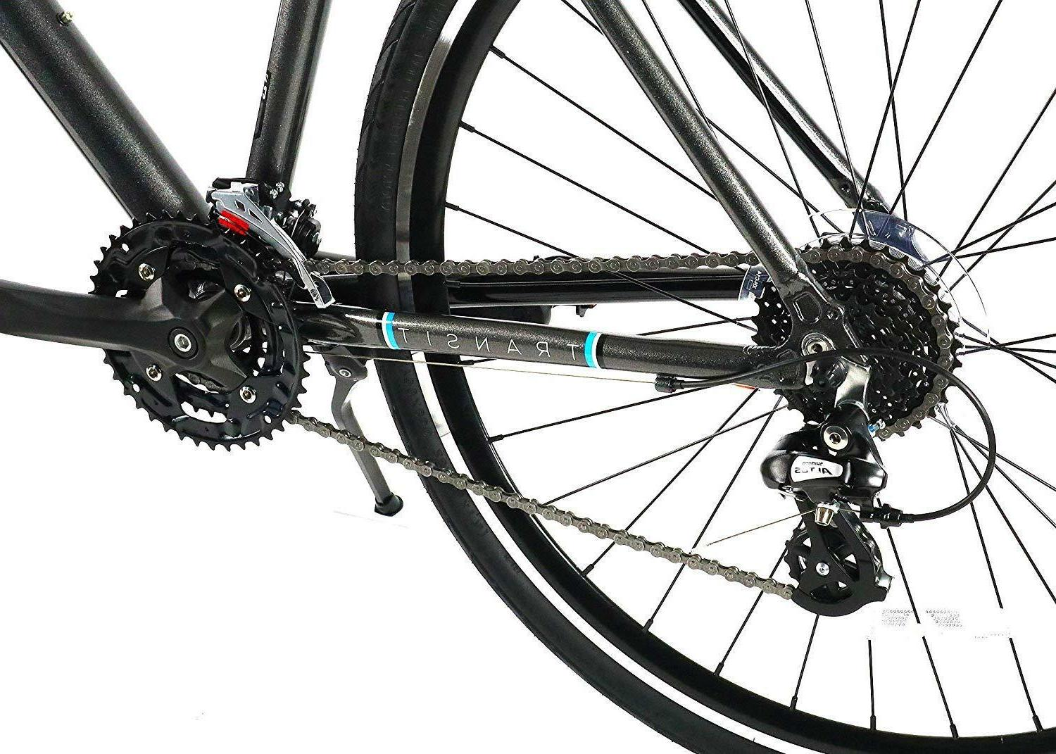 ZF Bikes Hybrid Alloy Bike Butted Frame - Gray