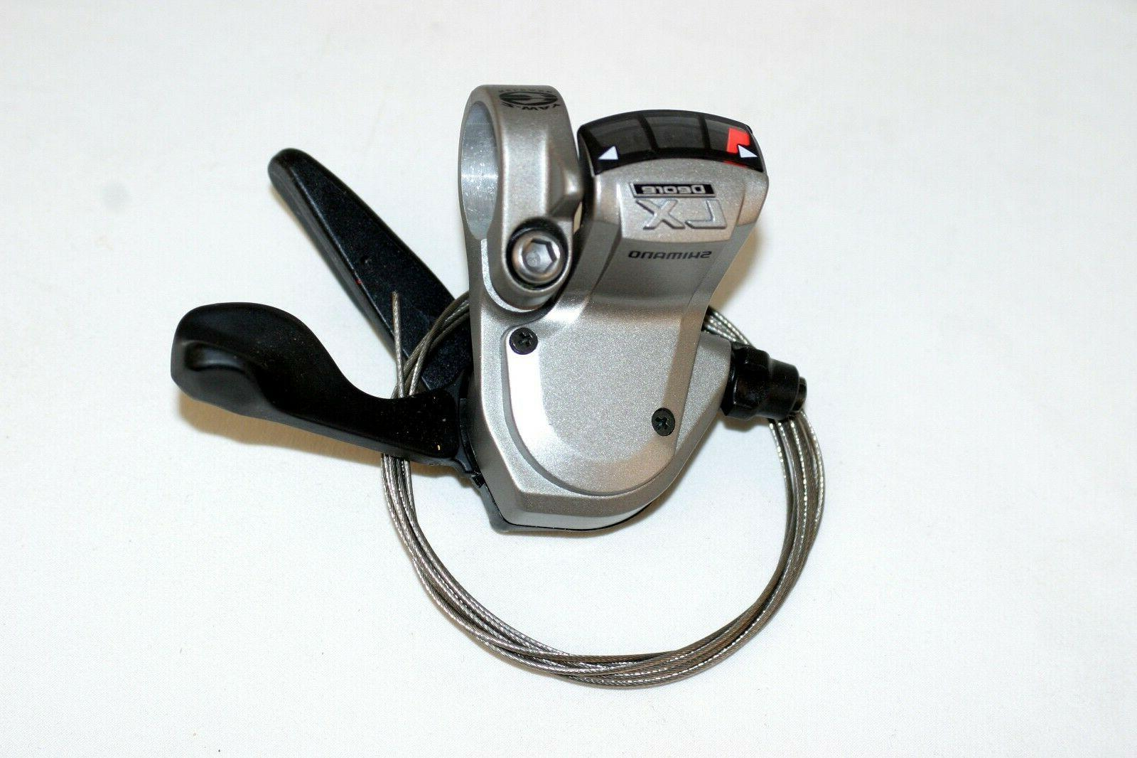 deore lx mtb 3 speed trigger shifters