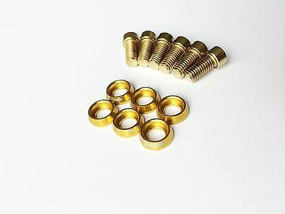 Gold - Cycling bike Bicycle Bolts and Screws Alloy