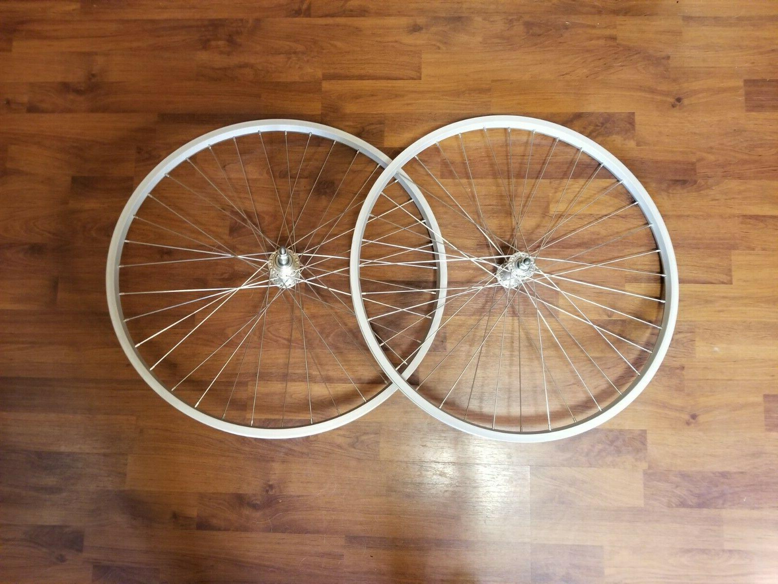 oem 26 hybrid bike wheelset 36h single