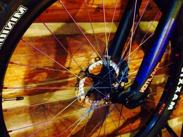 Titanium Spokes to Your Length 246mm-305mm Made