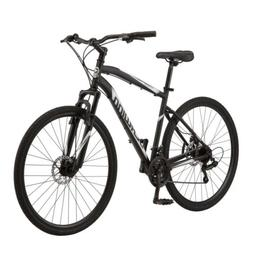 Schwinn S5712WMDS 700C Glenwood Mens Hybrid Bike - Black