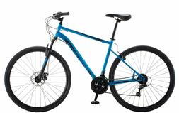 Schwinn Kempo Hybrid Bike, 700c wheels, 21 speeds, mens fram