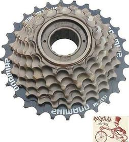 tourney bicycle freewheel replacement cluster